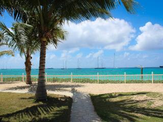 BEACHSIDE CONDO... you can't get much closer to the beach than this!!, Simpson Bay