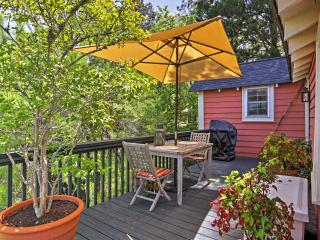 The deck will quickly become your favorite place to spend time.