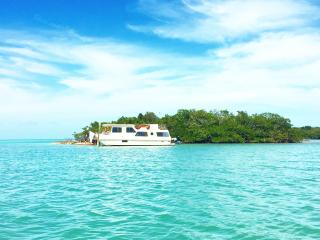 Tropical Private Island w/Houseboat, Boat & Kayaks