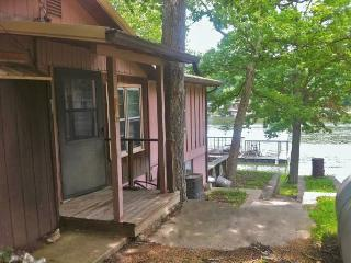 Furnished cabin with dock-available