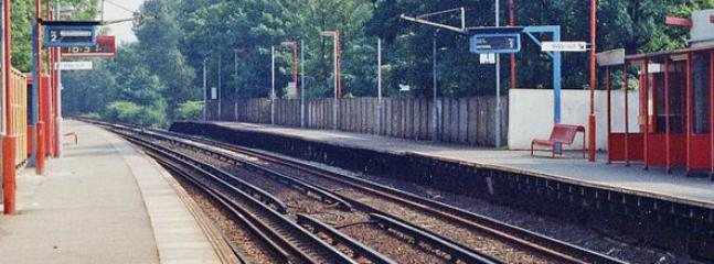 West Dulwich station. my closest rail station, 10 minutes to Victoria stations, 5 minutes to Brixton