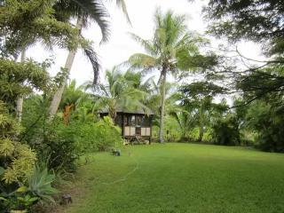 Cabin\ Bali Hut, tropical paradise, Pahoa