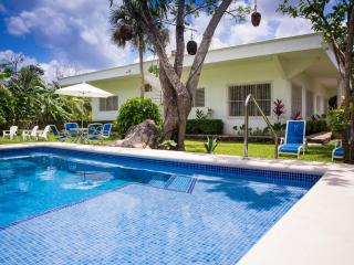 The Lodge is a 3BRHouse with Private Large Gardens, Cozumel