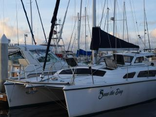 "BOAT BED & BREAKFAST - ""SEAS THE DAY"" - 34' CATAMARAN - Sleeps 6, San Diego"