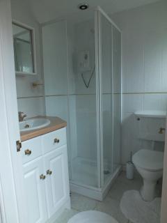 Ground floor shower room.