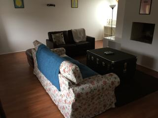 Lounge with sofa and sofa bed