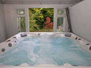Private Hot Tub with a view over the woodland
