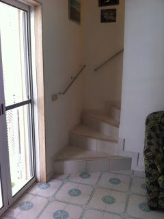 living room-stair to go 1rst floor