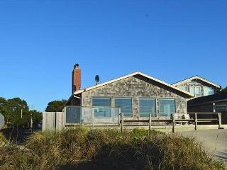 WAVE WALKER -MCA# 366~Classic Beach Front home! Stellar VIEW OF THE OCEAN!, Manzanita