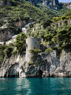 Torre Trasita dal mare