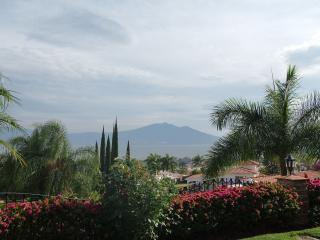 The view of the Chapala Lake from the house