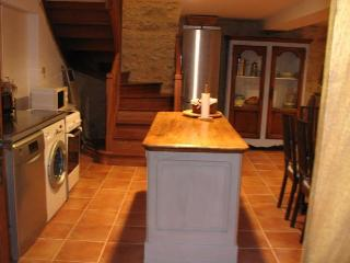 The Kitchen Area with all new appliances and Antique Shop Counter Centre Island