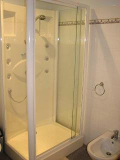 "The Ensuite Master Bathroom with ""Spa Shower"" - there is a full sized bath too!"