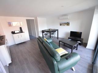 T2,1étage, une chambre, balcon,climatisé., La Teste-de-Buch
