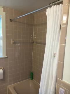 main bath, remodeled,and all new floor tile.