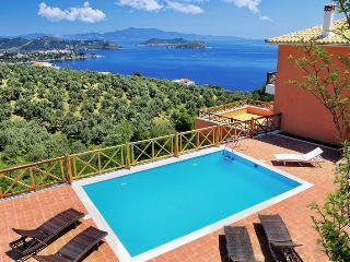 Amazing villa, private pool stunning sea view.
