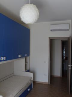 Seconda camera con due letti singoli