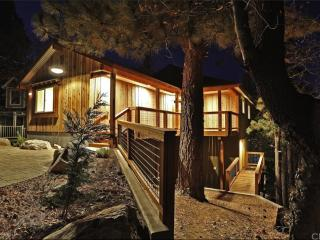 Modern Rustic Big Bear Cabin - Ski, Lake, & Zoo!