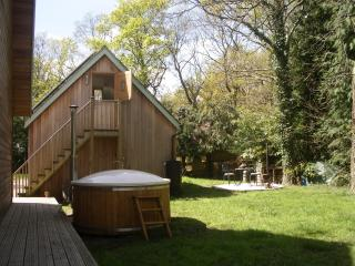 Woodland -Studio with hot tub in the New Forest