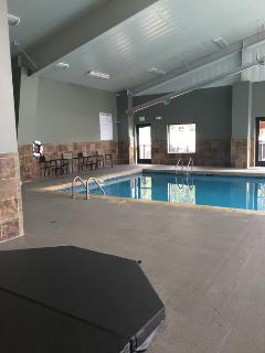 New rec center open - the pool