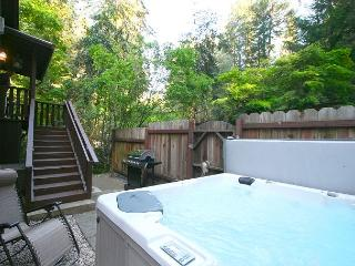 """""""Creekside Cottage"""" Beauty inside and out! Hot Tub, 3 nights for 2!, Guerneville"""