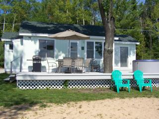 Mullett Lakeshore Cottage W/OUTDOOR HOT TUB!RELAX!, Topinabee