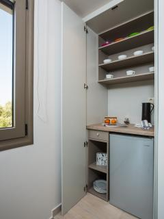 A mini bar and a fridge are available on the first floor.
