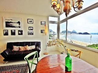 Luxury apartment in Copacabana with sea view. D024, Río de Janeiro