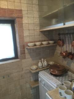 Particolare de la Cucina ne I Trulli