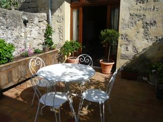 Lovely private terrace for relaxing and enjoying the warm weather.