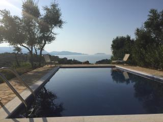 The sea views from the swimming pool, terrace and balcony are simply stunning.