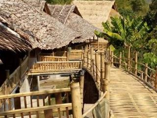 Traditional Thai Bamboo Bungalow, Chiang Mai