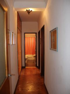 entrance hall to the apartment.
