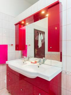 1st upper floor bathroom sink