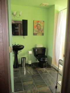 Extra large bathroom with walk in shower
