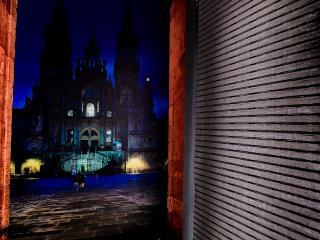 Apartamento 12 plazas.Pleno centro 3 min catedral., Santiago de Compostela