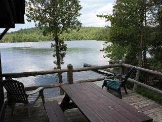 Classic Adirondack Waterfront Cabin *Pets ok* 3/2, Saranac Lake