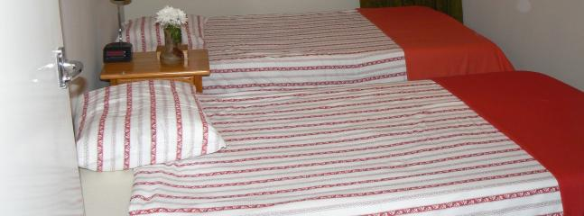 2nd bedroom with very comfortable German made matress