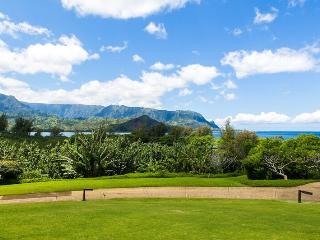 Unobstructed Hanalei Bay Ocean View studio