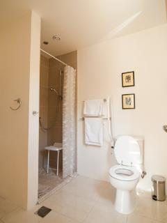 Ensuite bathroom (blue room)