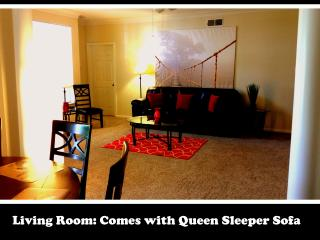 #428 -Furnished Corp Apt. 15 min from Hou Med Ctr., Stafford