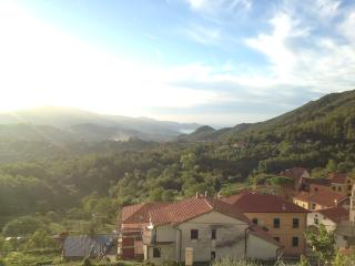 View towards Sestri Levante and Golfo del Tigullio