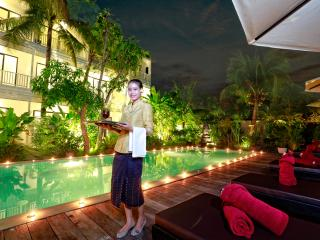 Deluxe Double with Balcony Pool View@Ladear Angkor