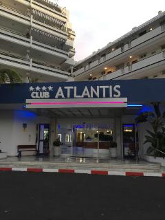 Club Atlantiis Main Entrance
