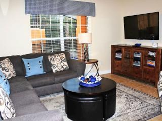 The couches and chair are comfortable, TV/DVD is wifi enabled, there's DVDs, Books, Games...comfort!