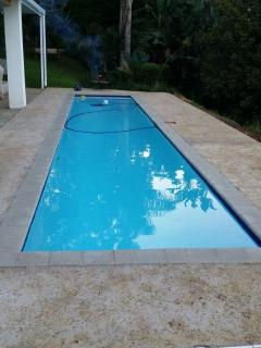 Cool lap pool for those warm days