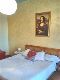 Camera  matrimoniale Monnalisa.