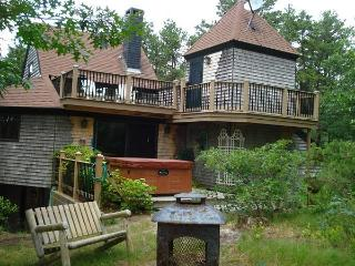 Multi-Level, Contemporary Wellfleet Home