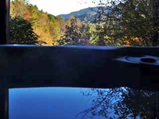 Paddlers Retreat - 2 King Suites! Mountain Views! Sparkling HotTub! N.O.C. 5min, Bryson City