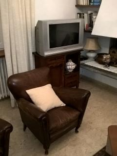 tv in salotto